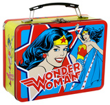 Wonder Woman Large Tin Lunchbox Lunch Box