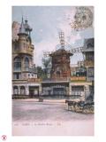 1906 carte postale Moulin Rouge Giclee Print