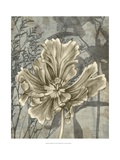 Tulip and Wildflowers II Print by Jennifer Goldberger