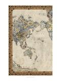Royal Map I Kunstdrucke von Chariklia Zarris