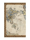 Royal Map I Giclee Print by Chariklia Zarris