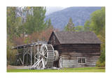 Historic Grist Mill Giclee Print by Donald Paulson