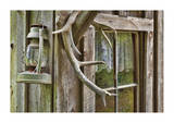 Antlers And Lantern Limited Edition by Donald Paulson