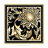 Neutral Floral Motif II Prints by  Vision Studio