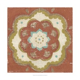 Rustic Tiles VI Print by Chariklia Zarris