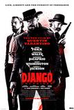 Django Unchained: vie, liberté, poursuite de la vengeance, en anglais Posters