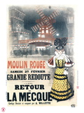 1897 Moulin Rouge  retour  la Mecque Gicleetryck av Roedel
