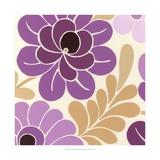 Fuchsia Floral II Prints by Erica J. Vess