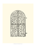 Wrought Iron Gate VII Giclee Print