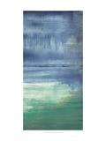 Azul Bayou II Lámina por Jennifer Goldberger