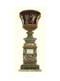 Piranesi Vase on Pedestal II Giclee Print by Piranesi Giovanni