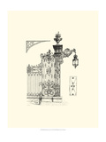 Wrought Iron Gate IV Giclee Print
