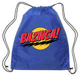 Big Bang Theory - Bazinga Backsack (blue) Drawstring Bag