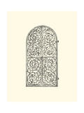 Wrought Iron Gate VI Giclee Print