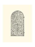 Wrought Iron Gate VI Giclee Print