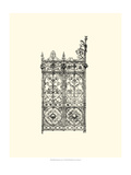 Wrought Iron Gate V Giclee Print
