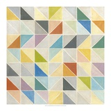 Non-Embellished Multifaceted II Giclee Print by Megan Meagher
