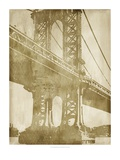 Non-Embellished Bridge Etching II Art by Ethan Harper