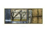 Tandem Trees IV Prints by Jennifer Goldberger