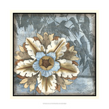Rosette with Leaves II Giclee Print by Jennifer Goldberger
