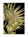 Rustic Tropical Leaves II Posters por Ethan Harper