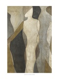 Figure Overlay I Posters af Megan Meagher