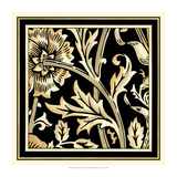 Neutral Floral Motif IV Prints by  Vision Studio