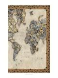 Royal Map II Plakaty autor Chariklia Zarris