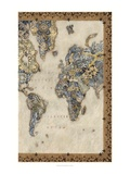 Royal Map II Giclee Print by Chariklia Zarris