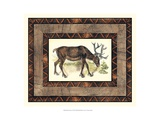 Rustic Moose Posters by  Vision Studio