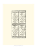 Wrought Iron Gate VIII Print