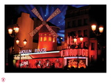 2010 Moulin Rouge twinkling stars Reproduction photographique