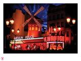 2010 Moulin Rouge twinkling stars Fotografisk trykk