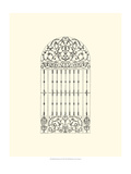 Wrought Iron Gate III Giclee Print