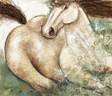 Cheval de Mer Art by Aline Gauthier