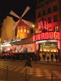 2010 Place Blanche Moulin Rouge Photographic Print