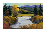 Purple Mountain View I Giclee Print by Tim O'toole