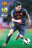 Barcelona Messi 2012-2013 Kunstdrucke