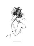 Elegant Fashion Study II Giclee Print by Ethan Harper