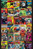 Batman Covers Posters