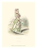 Le Fleur Animé II Print by J.J. Grandville