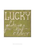 Four Leaf Clover Premium Giclee Print by Chariklia Zarris