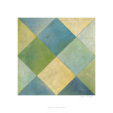Quilted Abstract III Posters by Megan Meagher