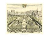 Formal Garden View III Reproduction giclée Premium par Erich Dahlbergh