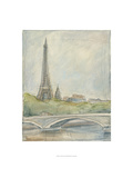 View of Paris III Prints by Ethan Harper