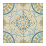 No Embellish* Old World Tiles IV Print by Chariklia Zarris