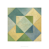 Quilted Abstract IV Prints by Megan Meagher