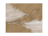 Compositional Figure Study I Giclee Print by Ethan Harper
