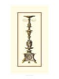 Antique Candlestick I Giclee Print by Vision Studio
