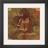 Words to Live By: With God Prints by Marilu Windvand